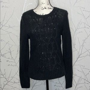 Banana Republic Factory cable knit sweater, Size S